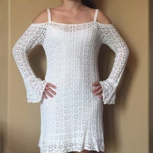 Super cute like new summer Venus crochet dress
